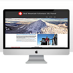 HLF Images Graphic and Web Design - Red Mountain Volunteer Ski Patrol