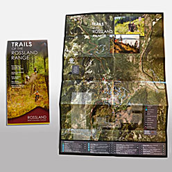 HLF Images Graphic Design and Web Development Consultant - Rossland Trails Map 4