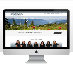 HLF Images Graphic and Web Design - Bay Avenue Dental