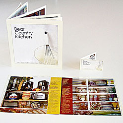 HLF Images Graphic Design and Web Development Consultant - Bear Country Kitchen Booklet