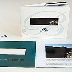 HLF Images Graphic Design and Web Development Consultant - Black Diamond Ridge Booklet
