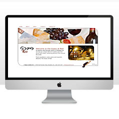 HLF Images Graphic and Web Design - Gypsy Restaurant