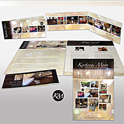 HLF Images Graphic Design and Web Development Consultant - Kootenai Moon Brochure & Poster