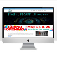 HLF Images Graphic and Web Design - Kootenay Escape Room