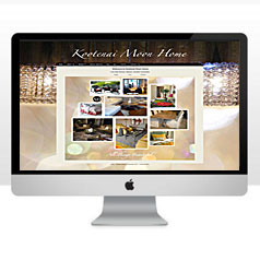 HLF Images Graphic and Web Design - Kootenay Moon Furniture