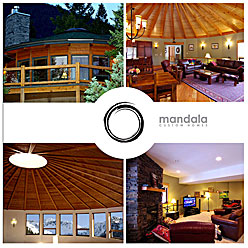 HLF Images Graphic Design and Web Development Consultant - Mandala Custom Homes Poster