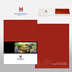 HLF Images Graphic Design and Web Development Consultant - Masse-environmental folders & cards