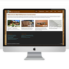HLF Images Graphic and Web Design - Matt Williamson Construction