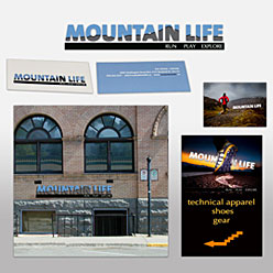HLF Images Graphic Design and Web Development Consultant - Mountain Life Signs