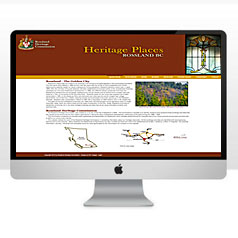 HLF Images Graphic and Web Design - Rossland Heritage