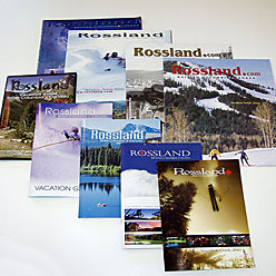HLF Images Graphic Design and Web Development Consultant - Rossland Vacation Guides