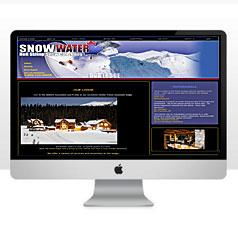 HLF Images Graphic and Web Design - Snowwater Heliskiing