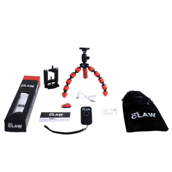HLF Images Graphic Design and Web Development Consultant - The Claw Tripod Packaging