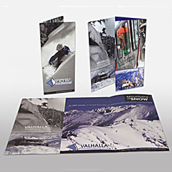 HLF Images Graphic Design and Web Development Consultant - Valhalla Powdercats Brochure